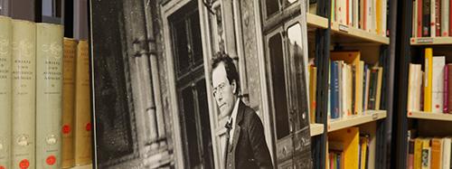 Les rayonnages de la Médiathèque Musicale Mahler