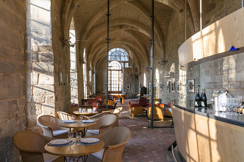 Le bar-salon de thé de Royaumont