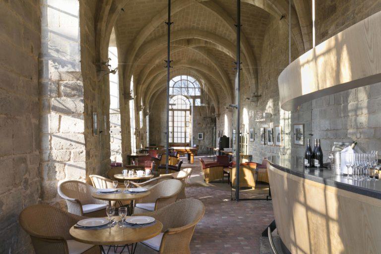 Photo du bar-salon de thé de Royaumont © Jérôme Galland