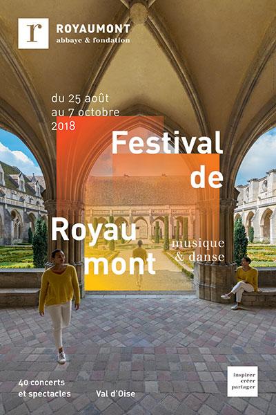 Affiche du Festival de Royaumont 2018