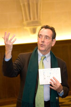 Pierre-André Lablaude en 2014 à Royaumont