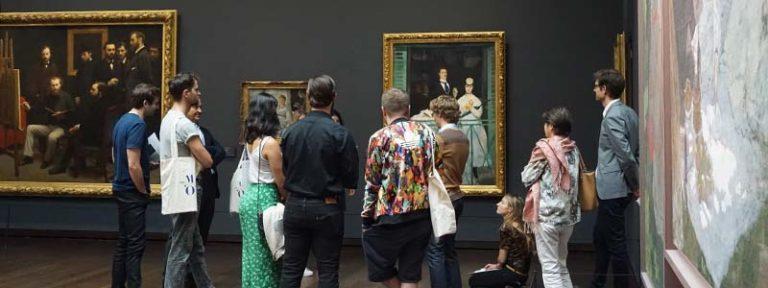 Les lauréats au Musée d'Orsay