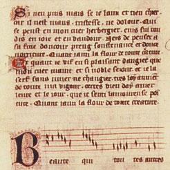 Manuscrit avec enluminures