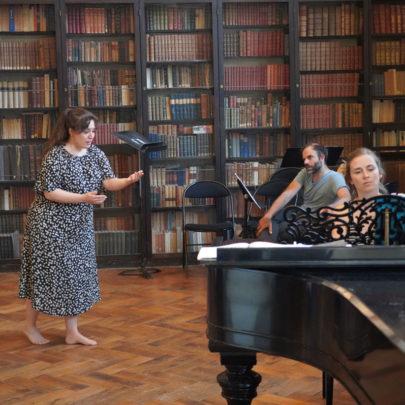 Session de travail Voix et Répertoire en bibliothèque